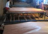 Folheado de madeira decorativo