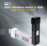 Intelligenter WiFi USB Flash Drive Android IOS Smartphone Share mit Fernsehapparat, Tablets und Laptop