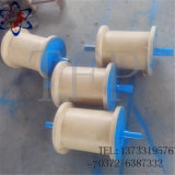 Rolo de nylon do carregamento pesado usado para o rolo deApoio de aço do eixo Inclined
