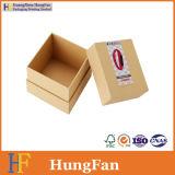 Коробка подарка изготовленный на заказ упаковки бумаги Kraft упаковывая с вставкой