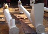 石炭または灰またはスラグ材料のための炭素鋼の管のタイプ螺線形ねじコンベヤー