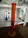 Голубая прямая труба водопровода съемки био опасностью