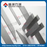 Tiras de la resistencia de desgaste del carburo de tungsteno K10 para la carpintería