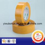 De gele Verzegelende Band van het Karton van de Plakband van de Kleur (BK002)
