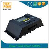 LCDが付いている熱い販売30A PWMの太陽充電器のコントローラ