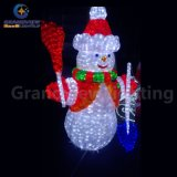 Bonhomme de neige extérieur Light de Light Frosty The de bonhomme de neige de Christmas Decoration pour Party et Wedding Decoration
