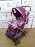 2017 de Nieuwe Wandelwagen van de Baby van het Ontwerp En1888 met Katoenen Kussen en de Dekking van de Voet