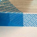 Étiquette totale verte faite sur commande /Sticker de transfert avec le vide