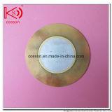 De cerámica piezoeléctrico de RoHS del alambre y del conector de la alarma de la señal sonora del disco