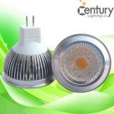 Luz interna do ponto do diodo emissor de luz da iluminação do diodo emissor de luz do bulbo de lâmpada do projector do diodo emissor de luz da ESPIGA de MR16 Gu5.3 4W