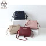 対照カラー余暇PUの革女性デザイナーハンドバッグ