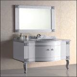 高品質の床のミラーとの永続的な浴室の流しの虚栄心