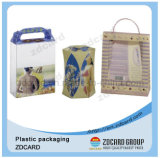 Casella trasparente di imballaggio di plastica dell'animale domestico pp del PVC