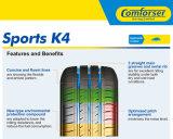 Pneu dos esportes K4 com venda quente e preço favorável