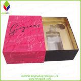 Perfume de la caja plegable de cuadrícula del Bowknot del estilo de la vendimia