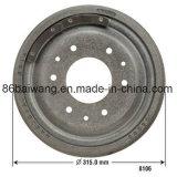 Tambour de frein de fer de moulage 18025647 pour des séries de véhicules de GM