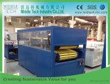 Plastik-PVC/WPC Decken-Vorstand-Tür-Panel/schäumende Blatt-Strangpresßling-Maschine