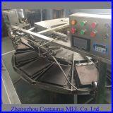 Gas-Heizungs-manueller Eiscreme-Kegel, der Maschine herstellt