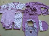 Conjunto promocional de presente de bebê recém-nascido 8PCS Conjunto de vestuário para roupas de bebê