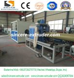 ポリウレタン熱絶縁体の管のためのHDPEのPEのプラスチック・ケースの管の放出ライン生産機械