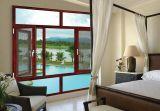 Окно Casement дешевого цены хорошего качества алюминиевое деревянное