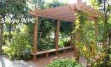 Pérgola compuesta plástica de madera al aire libre/del jardín