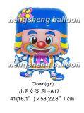 Воздушный шар конфеты шаржа (SL-A171)