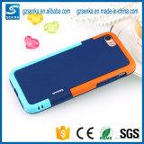 Caisse antichoc hybride de téléphone de couverture arrière de Walnutt pour la note 3/Note 4 de galaxie de Samsung