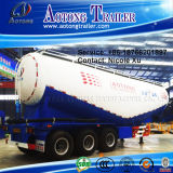 3 eixo 29.8t Low Density Bulk Cement Tank Semi Truck Trailer (65m³) (LAT9402GFL)