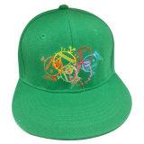 Gorra de béisbol de calidad superior del Snapback con el bordado grande Gjfp17104