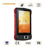 Leitor Handheld da tela de toque RFID de China Andorid com o varredor do código de barras da impressão digital
