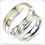Anillo de dedo de los complementos de la joyería del acero inoxidable (SR731)