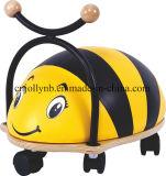 A venda por atacado nova e popular caçoa o caminhante do bebê, passeio de madeira da venda quente na abelha para miúdos