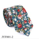 Hot Selling Customed Plant Pattern Mixed Men's Casual Floral Printed Necktie