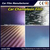Vinyle changeant de couleur de carrosserie, film 1.52m*28m de vinyle d'enveloppe de caméléon