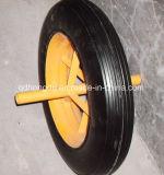6 인치 단단한 고무 바퀴