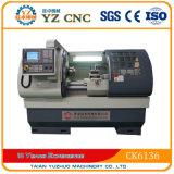 Ck6136 편평한 침대 유형 CNC 선반 기계