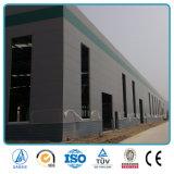 中国デザインおよび製造によって大きいスパンの鉄骨構造の門脈フレームのIndustialの製造される既製のカスタマイズされたプレハブの倉庫