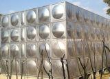 Contenitore sezionale bevente dell'acqua del serbatoio di acqua dell'acciaio inossidabile Ss304