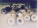Keramisches Leitungsrohr mit Flansch in der Portindustrie