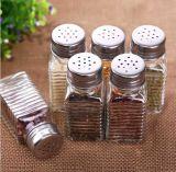 GlasCruet 100ml/Salz-und Pfeffer-Schüttel-Apparatgewürz-Glas/Flasche