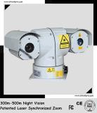 PTZ 옥외 Laser 야간 시계 사진기 Sdi (일 600m 밤 300m)