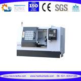 5 torno inclinado del CNC de la base de la fresadora Ck-63L del CNC del eje para el precio de la pequeña empresa