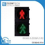 сигнал светофора 300mm СИД с красным зеленым снабжением жилищем PC плеера