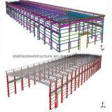 가벼운 강철 건축은 최고 디자인을%s 가진 작업장을 구축한다