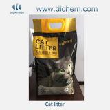Natürliche weiße staubfreie Bentonit-Katze-Sänfte-umweltfreundliche Produkte