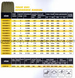 neumático radial del coche 13 '' - 20 '', neumático de la polimerización en cadena (155/65R13 165/70R14 185/55R15 205/55R16)