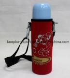 Porte-bouteille en néoprène couleur pleine couleur pour fille