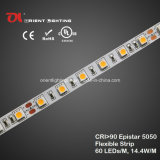 UL 높은 CRI Epistar 5050 고밀도 LED 지구 6500k