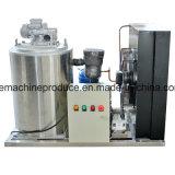 Máquina de hielo de escamas 1000kgs para uso comercial